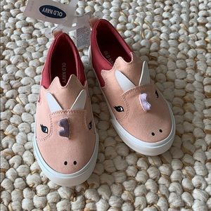 ON GIRLS Dinosaur Sneakers Flats NEW